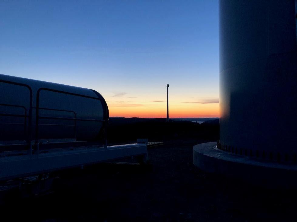 Vindkraftpark Nylandsberget OCH Kråktorpet